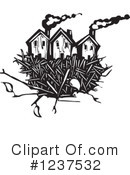 Royalty-Free (RF) House Clipart Illustration #1237532