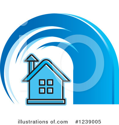 House Clipart #1239005 by Lal Perera
