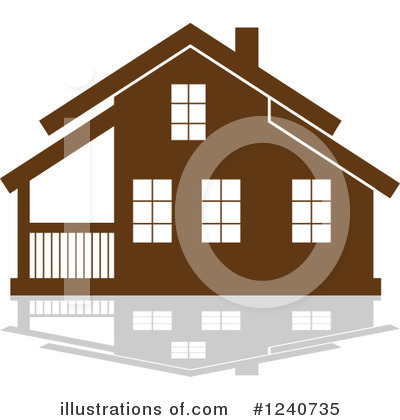 House Clipart #1240735 by Vector Tradition SM