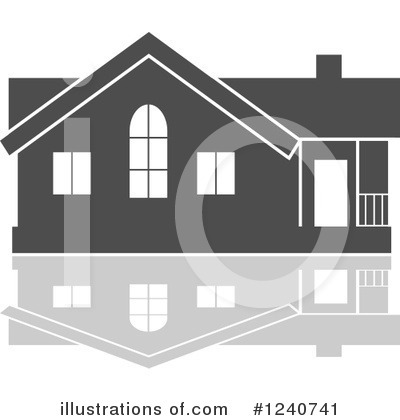 House Clipart #1240741 by Vector Tradition SM