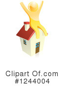 Royalty-Free (RF) House Clipart Illustration #1244004
