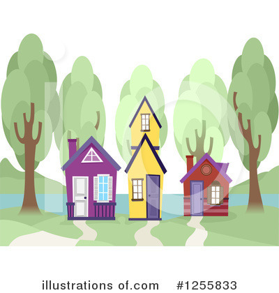 Village Clipart #1255833 by BNP Design Studio