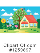 Royalty-Free (RF) House Clipart Illustration #1259897
