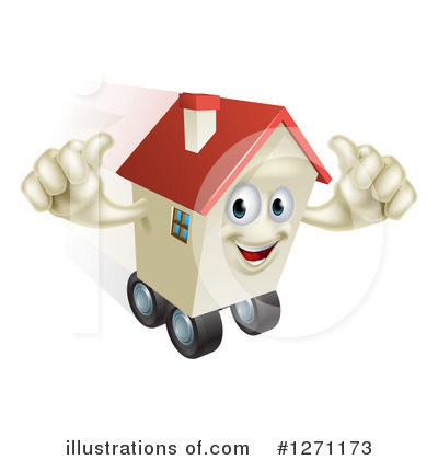 Housing Clipart #1271173 by AtStockIllustration