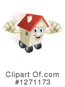 House Clipart #1271173 by AtStockIllustration