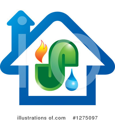 House Clipart #1275097 by Lal Perera
