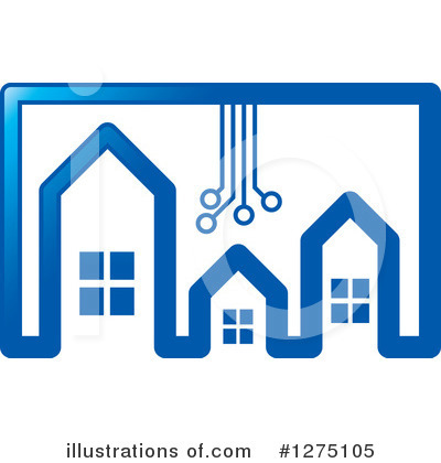 House Clipart #1275105 by Lal Perera