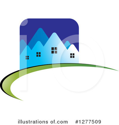House Clipart #1277509 by Lal Perera