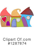 Royalty-Free (RF) House Clipart Illustration #1287874