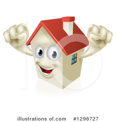 Housing Clipart #1296727 by AtStockIllustration