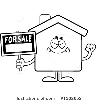 House Clipart #1302652 by Cory Thoman