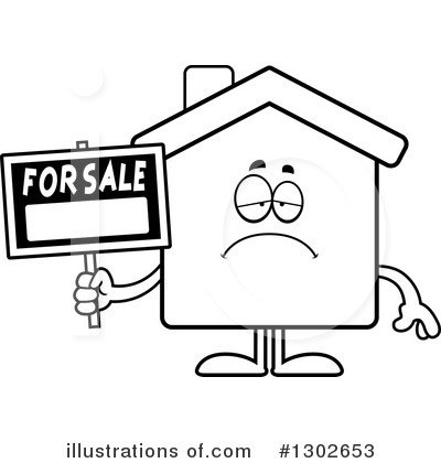 House Clipart #1302653 by Cory Thoman