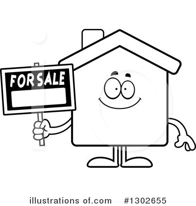 House Clipart #1302655 by Cory Thoman