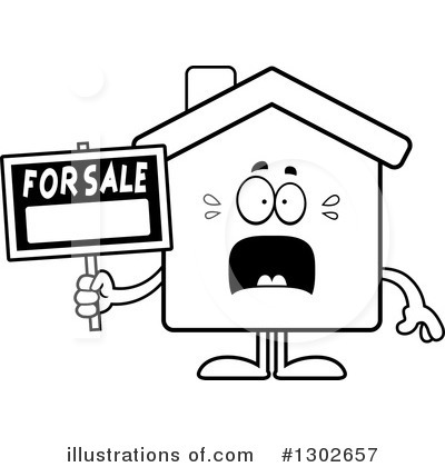 House Clipart #1302657 by Cory Thoman
