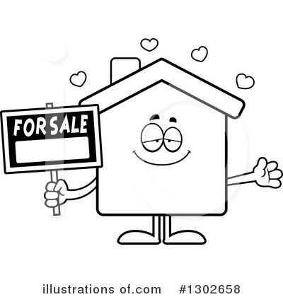 House Clipart #1302658 by Cory Thoman