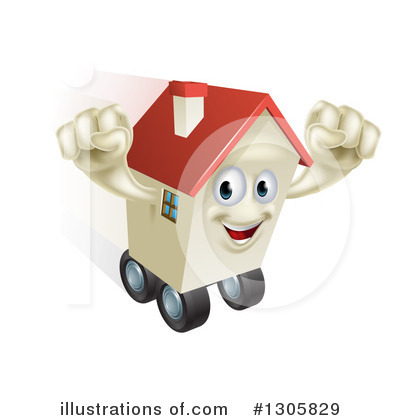 Housing Clipart #1305829 by AtStockIllustration