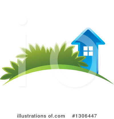 House Clipart #1306447 by Lal Perera