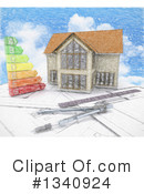 House Clipart #1340924 by KJ Pargeter