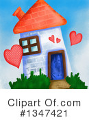 Royalty-Free (RF) House Clipart Illustration #1347421
