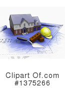 Royalty-Free (RF) House Clipart Illustration #1375266