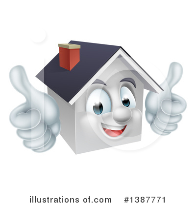 Roofing Clipart #1387771 by AtStockIllustration