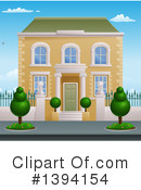 Royalty-Free (RF) House Clipart Illustration #1394154
