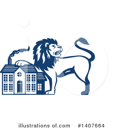 Lion Clipart #1407664 by patrimonio