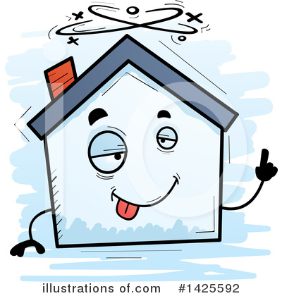 House Clipart #1425592 by Cory Thoman
