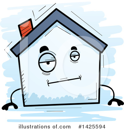 House Clipart #1425594 by Cory Thoman