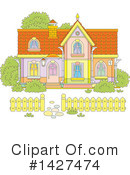 House Clipart #1427474 by Alex Bannykh