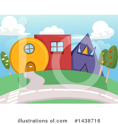 Village Clipart #1438716 by BNP Design Studio