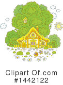 House Clipart #1442122 by Alex Bannykh