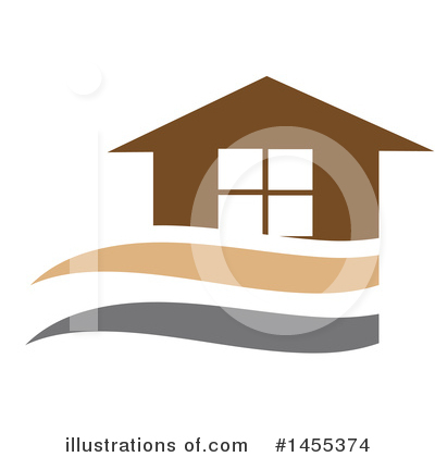 Royalty-Free (RF) House Clipart Illustration by Domenico Condello - Stock Sample #1455374