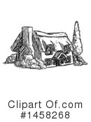 House Clipart #1458268 by AtStockIllustration