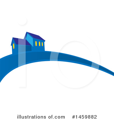 House Clipart #1459882 by Domenico Condello