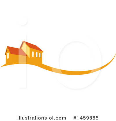 House Clipart #1459885 by Domenico Condello