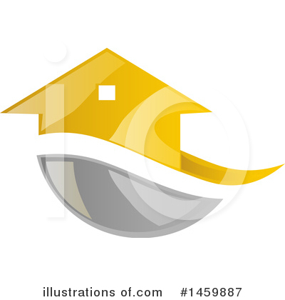 House Clipart #1459887 by Domenico Condello