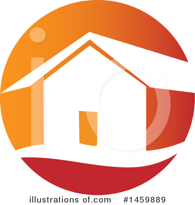 Royalty-Free (RF) House Clipart Illustration by Domenico Condello - Stock Sample #1459889