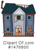 House Clipart #1476800 by Graphics RF