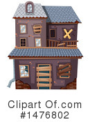 House Clipart #1476802 by Graphics RF