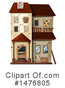 House Clipart #1476805 by Graphics RF