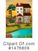 House Clipart #1476809 by Graphics RF