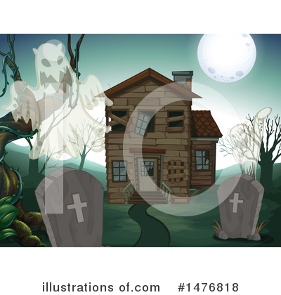Haunted House Clipart #1476818 by Graphics RF