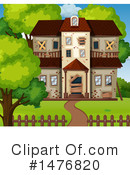 House Clipart #1476820 by Graphics RF