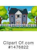 House Clipart #1476822 by Graphics RF