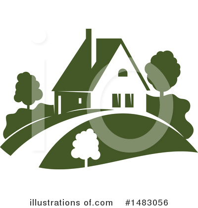 House Clipart #1483056 by Vector Tradition SM
