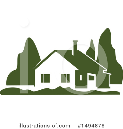 House Clipart #1494876 by Vector Tradition SM
