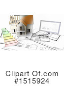 House Clipart #1515924 by KJ Pargeter