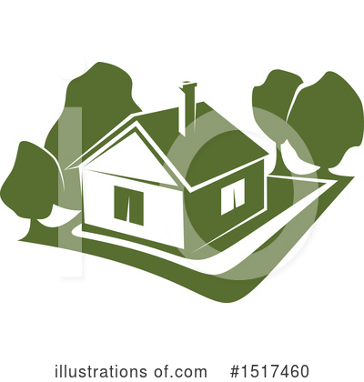House Clipart #1517460 by Vector Tradition SM