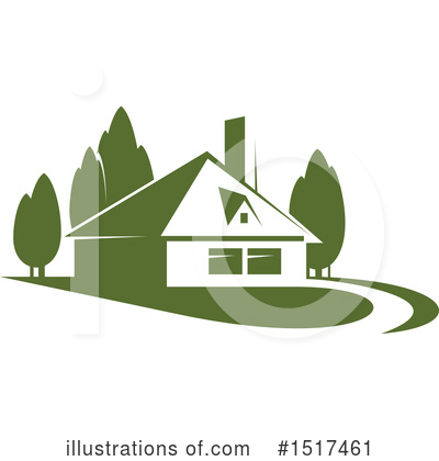 House Clipart #1517461 by Vector Tradition SM